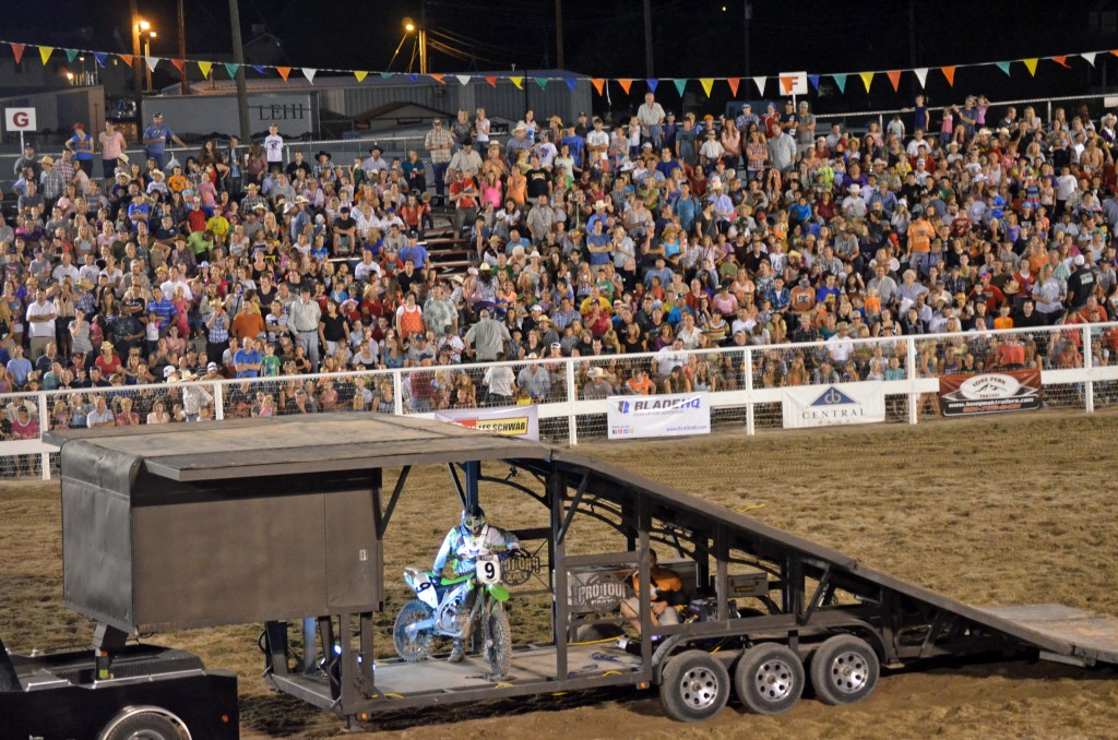 Motorcycles at the rodeo