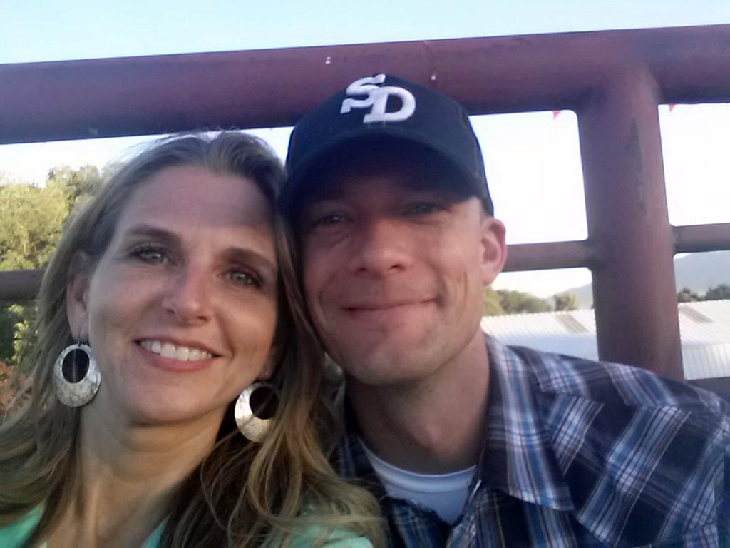 Wade and Amy at Rodeo
